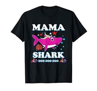 Mama Shark Shirt Doo Doo Doo For Matching Family Pajamas T-Shirt