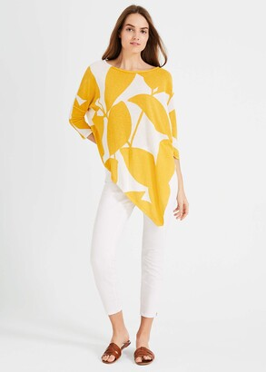 Phase Eight Lamona Printed Knitted Top