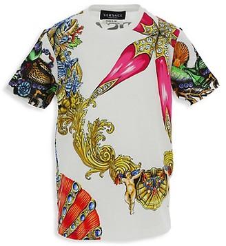 Versace Little Kid's and Kid's Tresor de la Mer T-Shirt