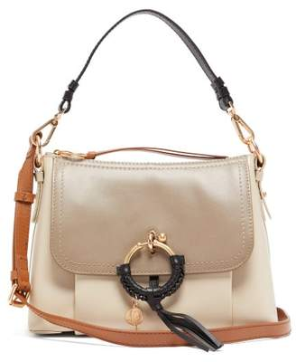 See by Chloe Joan Small Leather Shoulder Bag - Womens - Grey Multi