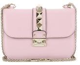 Valentino Lock Small Leather Shoulder Bag