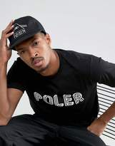 Poler 5 Panel Snapback Cap With Psychedlic Logo