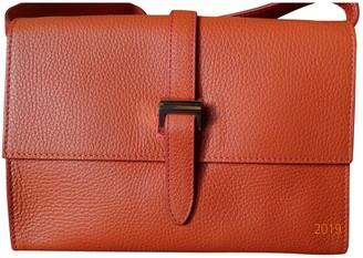 Meli-Melo Orange Leather Handbags