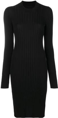 Maison Margiela ribbed fitted dress