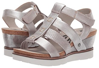 OTBT New Moon (Silver) Women's Wedge Shoes