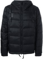 Marcelo Burlon County of Milan hooded padded jacket