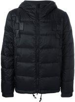 Marcelo Burlon County of Milan hooded padded jacket