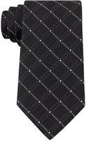 Geoffrey Beene Men's Bling Cord Grid Tie