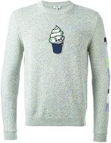 Kenzo icecream appliqué jumper - men - Cotton - S