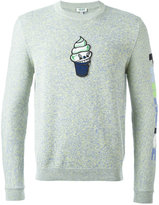Kenzo icecream appliqué jumper
