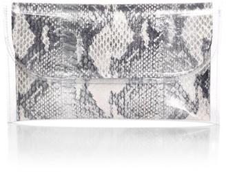 Nancy Gonzalez Small PVC & Snakeskin Pouch