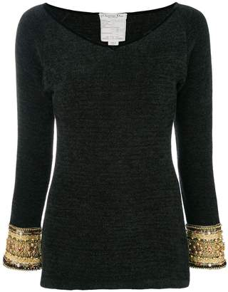 Christian Dior Pre-Owned Chinille blouse