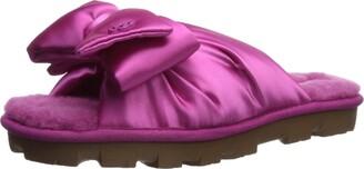 UGG Women's LUSHETTE Puffer Flat Sandal