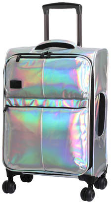 """it Girl Spellbound 22"""" Holographic Expandable Carry-On Spinner Suitcase"""