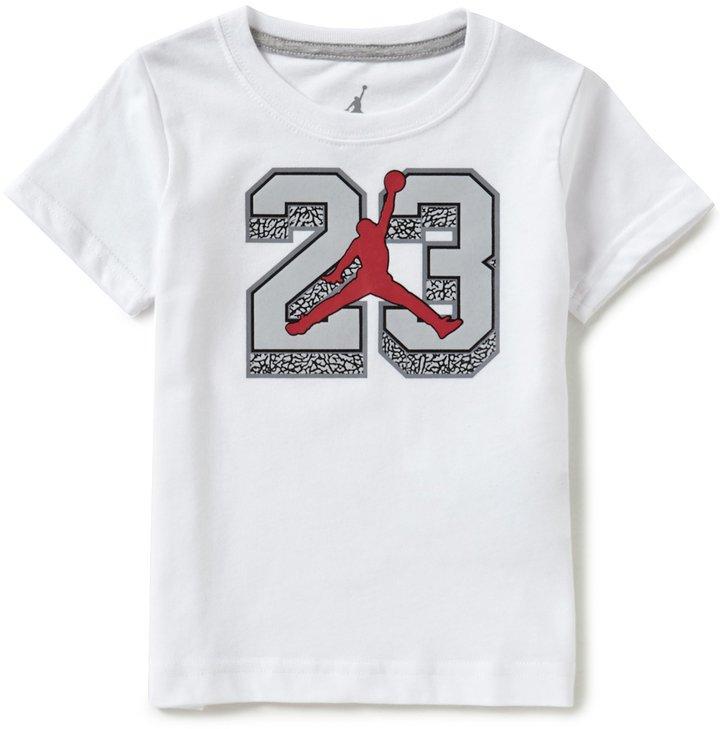 Jordan Little Boys 2T-7 Superstar 23 Short-Sleeve Graphic Tee