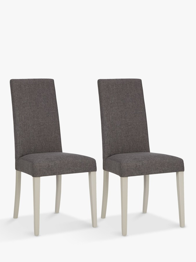 Alba Lydia Dining Chairs, Set of 2, FSC Certified (Beech Wood), Soft Grey