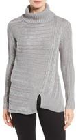 RD Style Women's Asymmetrical Turtleneck Sweater