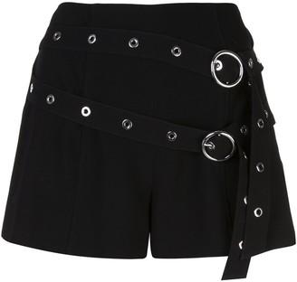 Cinq à Sept Jessi belted shorts