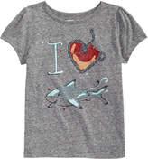 Epic Threads I Heart Sharks T-Shirt, Toddler Girls, Created for Macy's