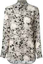 Saint Laurent floral print shirt - women - Viscose - 38