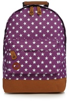 Mi-pac Purple And White All Star Mini Backpack