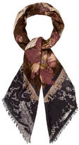 Christian Lacroix Wool & Silk-Blend Shawl