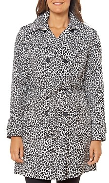 Kate Spade Leopard Print Trench Coat
