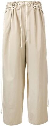 Ambush wide-leg flared trousers