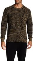 Eleven Paris ELEVENPARIS Printed Crewneck Sweater