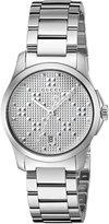 Gucci Women's YA126551 Analog Display Swiss Quartz Watch