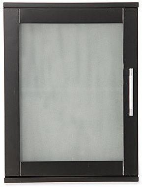 JCPenney Mirror Cabinet, Frosted Pane Wall