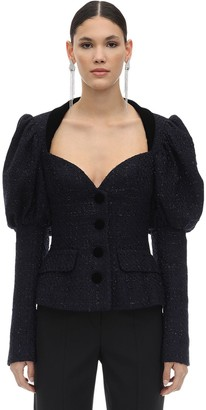 MARIANNA SENCHINA Wool Blend Blazer