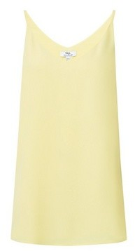 Dorothy Perkins Womens Dp Tall Yellow Camisole Top, Yellow