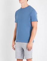 Hamilton & Hare Logo-print cotton-jersey T-shirt