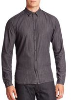 The Kooples Long Sleeve Collared Shirt