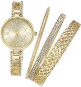 Charter Club Women's Bracelet Watch 30mm & Bangle Bracelet Set, Only at Macy's