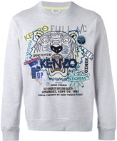 Kenzo Tiger x Flyer sweatshirt - men - Cotton - XXS