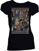 Doctor Who Womens All Doctors and Companions Colour T-Shirt