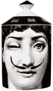 Fornasetti 300g Vela The Woman with Moustache Candle