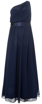 Dorothy Perkins Womens Showcase Curve Bridesmaids Navy 'Sadie' Maxi Dress