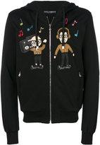 Dolce & Gabbana designer's patch hoodie