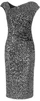 LK Bennett L.K.Bennett Jazz Sequin Dress, Silver