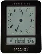 La Crosse Technology 617-1392B Atomic Digital Analog-Style Alarm Clock