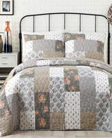 Jessica Simpson Floribunda Cotton Quilt and Sham Collection