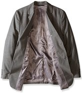 Perry Ellis Men's Big-Tall Solid Texture Suit Jacket
