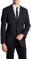 Kroon Black Honeycomb Two Button Notch Lapel Jacket