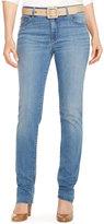 Lauren Ralph Lauren Premier Stretch Straight-Leg Jeans, Perry Wash