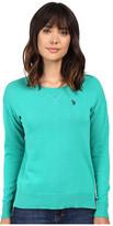 U.S. Polo Assn. Hi-Lo Hem Pullover Sweater