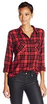 Sanctuary Women's Fitted Boyfriend Shirt