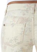 Delia's Metallic Floral Skinny Jean